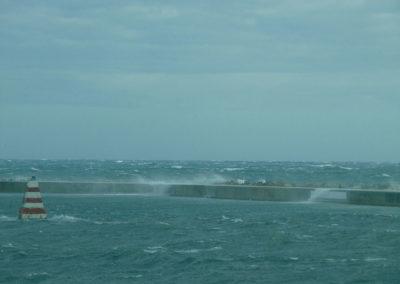 Vento di Levante porto di Stintino