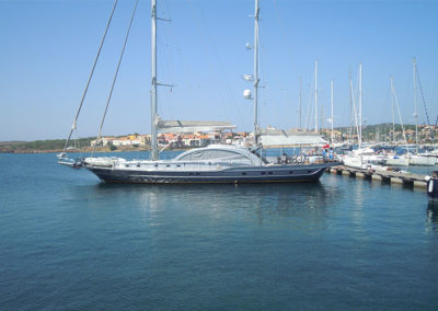Ormeggi Barche a Vela Stintino