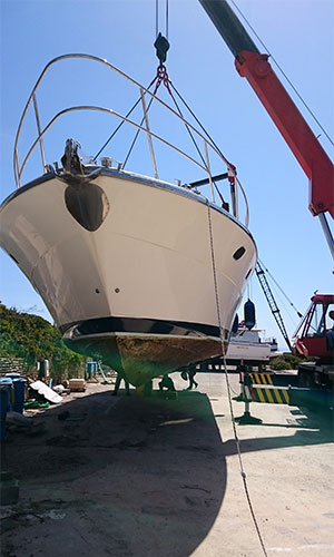 Rimessaggio barche a Motore